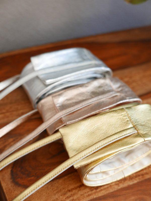 Farben Bindegürtel Leder