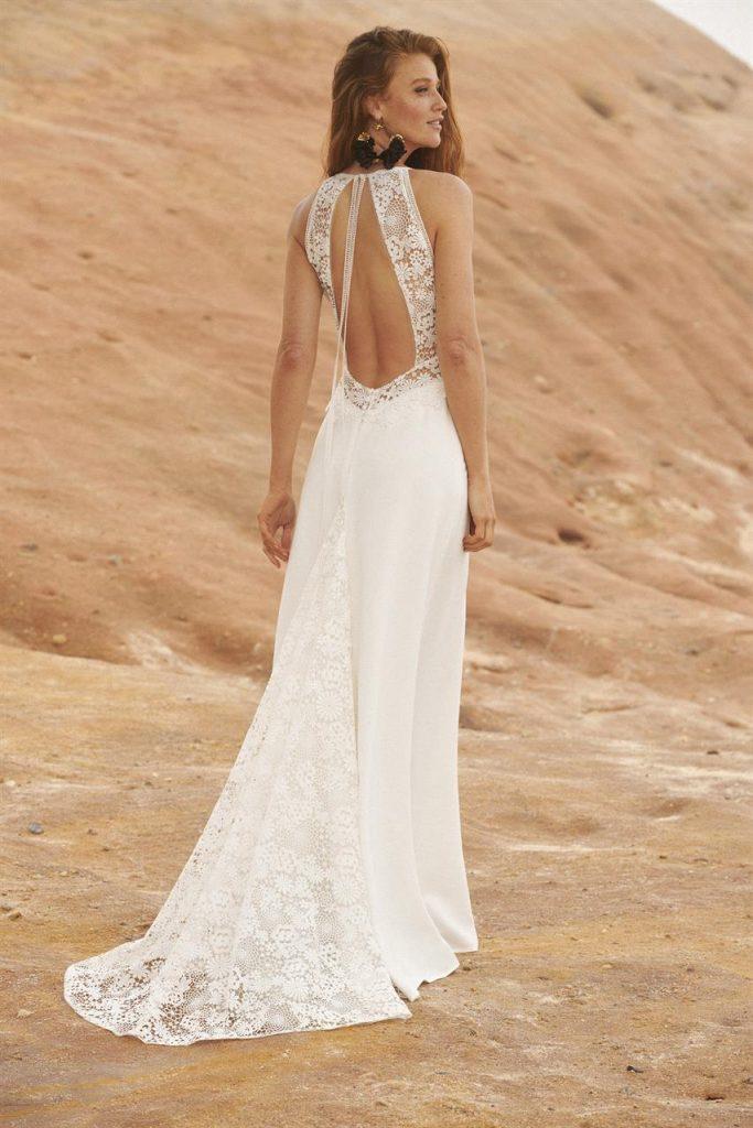 Rembo Styling - Jour - leichtes Brautkleid mit tollem Rücken