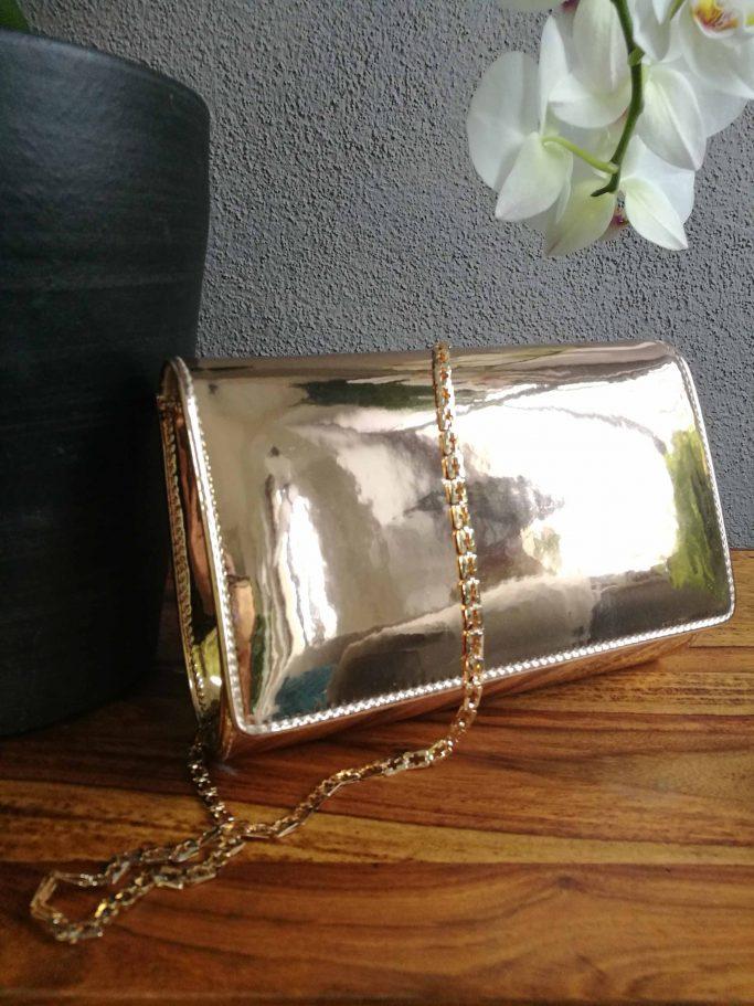 Brauttasche Dafnee Rose-Gold Mirror