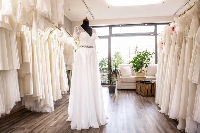 Calesco Beratung Brautmode dresden